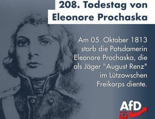 """Erinnerung an Eleonore Prochaska – der Freikorpssoldat """"August Renz"""""""
